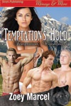 Temptation's Hold (Temptation, Wyoming 4) - MFMM Menage/BDSM/Paranormal/Cowboys