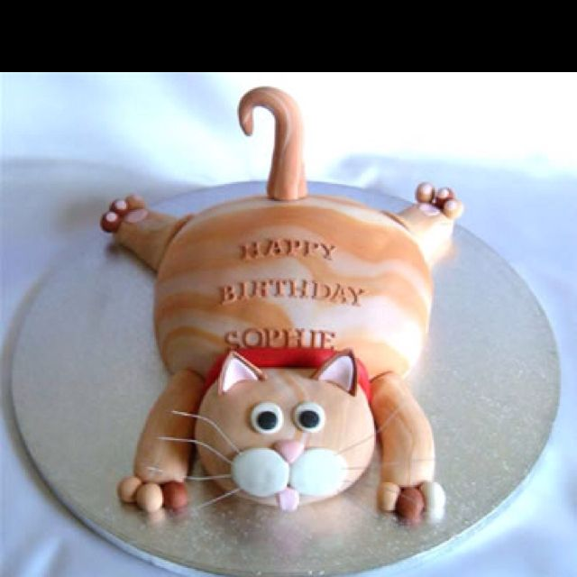 274 best cat cakes cookies cupcakes images on Pinterest Cute