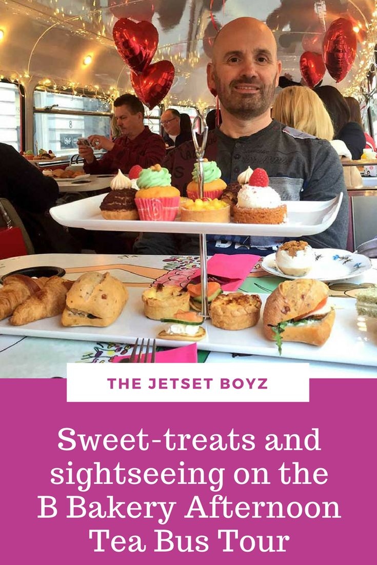 What happens when you mix classic afternoon tea with an iconic red Routemaster bus? You get the fabulous B Bakery Afternoon Tea Bus Tour! To celebrate Valentine's Day we took the tour for a fab afternoon nibbling teatime treats & viewing some great London sights.