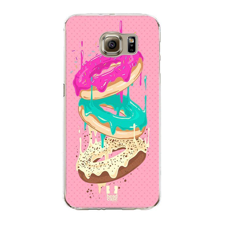 Donuts Pizza Silicone Cover Fundas Coque for Samsung Galaxy J3 J5 A3 A5 2016 2015 S3 S4 S5 S6 S7 Edge Core Grand Prime Case