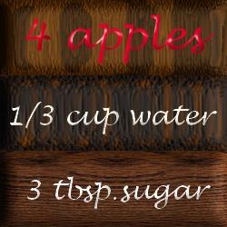 Homemade applesauce recipe. #apples