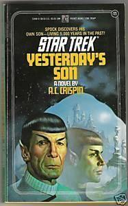"""""""Yesterday's Son (Star Trek, No 11)"""" av A.C. Crispin"""