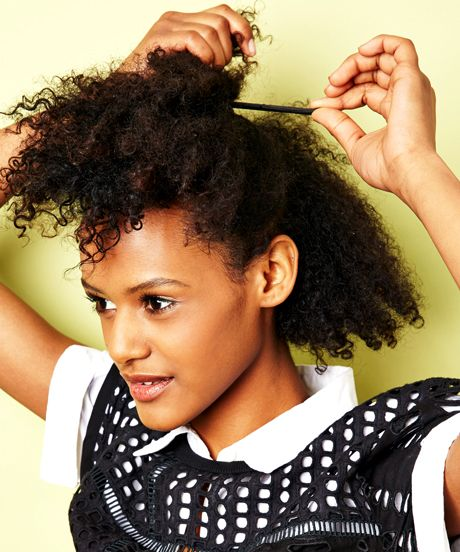 9 Hairstyles Every Transitioning Girl Needs To Learn #refinery29 http://www.refinery29.com/easy-natural-hairstyles