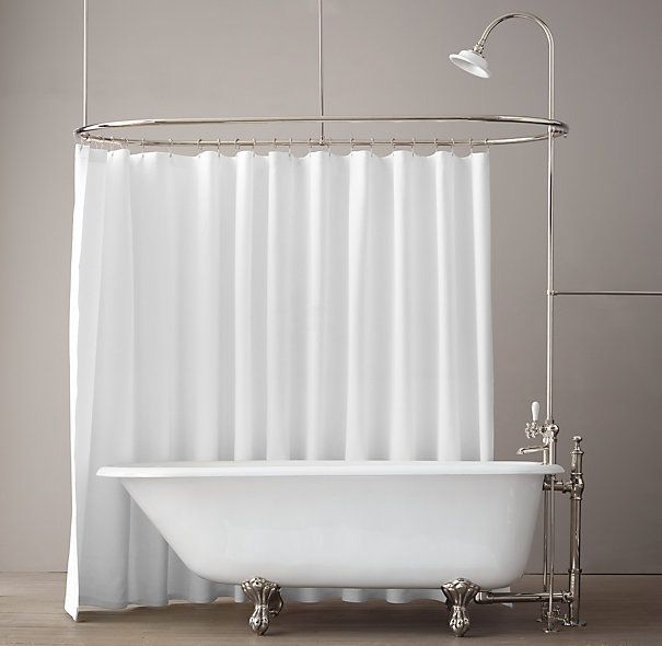 add shower to clawfoot tub. 61  Classic Victorian Clawfoot Tub With Tubfill And Shower Converter 488 best bath images on Pinterest Diy scrub Handmade soaps and DIY