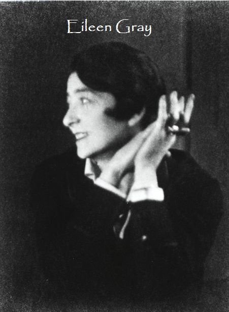 Eileen Grey was born in Ireland 1878 and died in Paris 1976. She studied at an art school called Slade in London and became a designer and an architect.