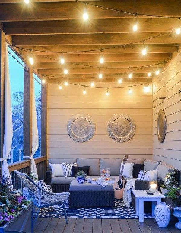 40 Best Deck Decorating Ideas To For A Stylish Outdoor Space Ideas Https Pistoncars Com 40 Best Deck Decorating Ideas Styl Summer Porch Decor New Homes Home
