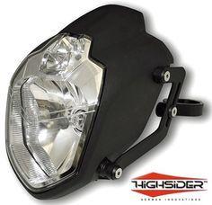 UB1 MT03 Style URBAN Motorcycle Streetfighter Headlight + Brackets