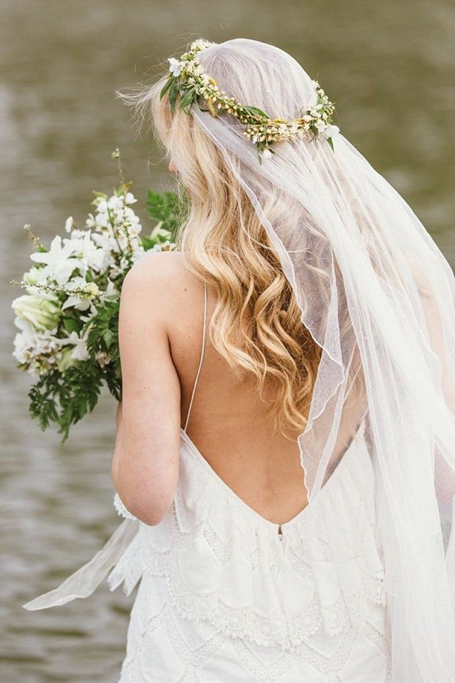 You can't go wrong with a boho flower crown.