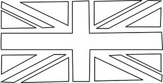 Union Jack Bunting template