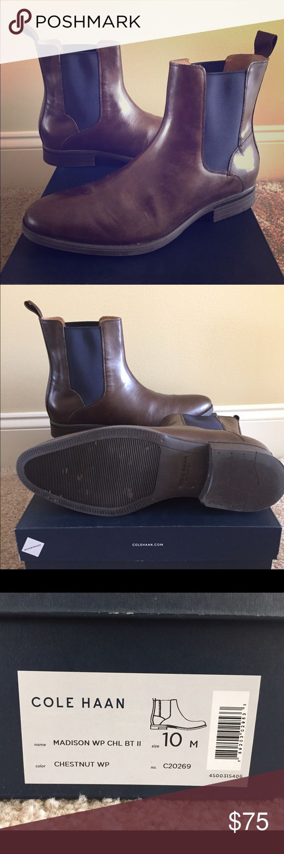 Cole Haan boots Cole Haan waterproof boots.  Only worn a few times. In great condition. Cole Haan Shoes Boots