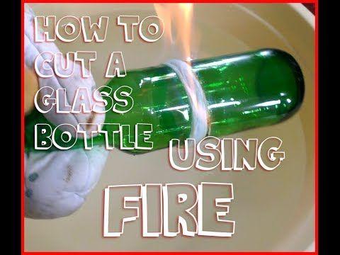 Jednoduchý spôsob, ako rozdeliť sklenenú fľašu na polovicu | Chillin.sk
