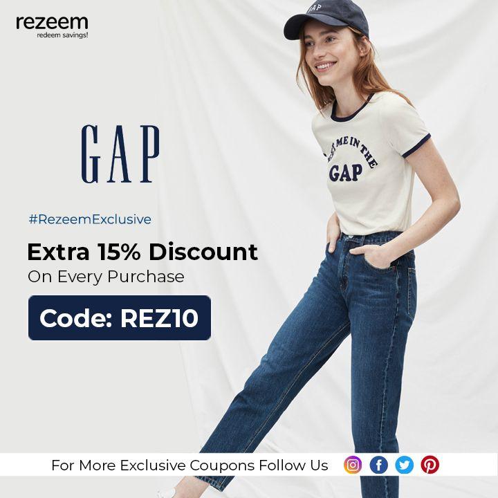 gap discount