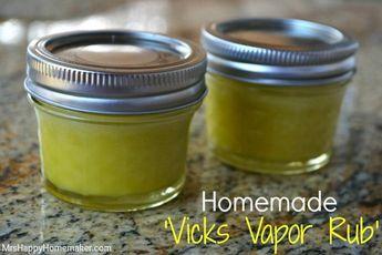 Comment faire votre vicks vapor rub vous même ? Voici un petit remède de secours naturel pour vous aider pour vos affections hivernales. Mais n'oubliez pas de mettre en place toute une hygiène avec votre naturopathe, pour éviter qu'elles ne se renouvellent...