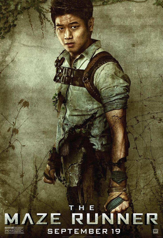 MAZE RUNNER: New character posters | Minho