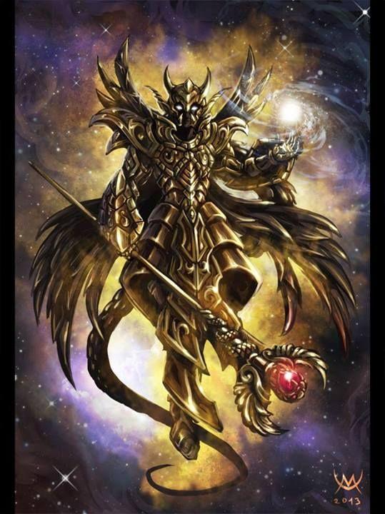 armadura do 13° Cavaleiro de ouro (Ophiucus)
