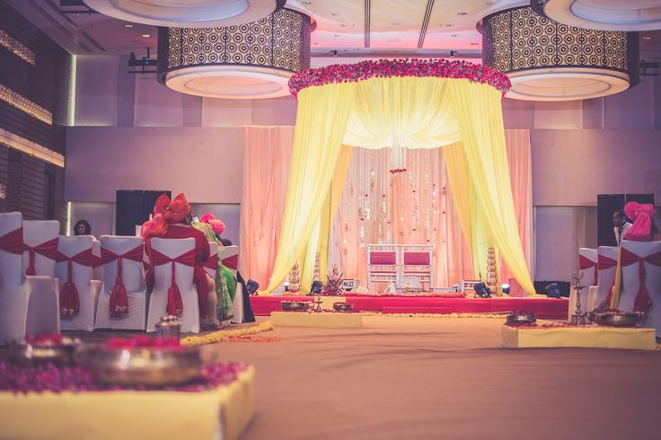 Super-Duper Wedding is the one-stop shop for everything related to weddings. This Mumbai-based leading company, and are up to offer everything that goes into a unforgettable wedding, be it guest relations or organization, stage design , entertainement & a lot more….  #NIMO #biffatindianwedding #Elegence #Indianwedding #weddingmandap #weddingtrends #weddingelements #royalmandap #Pastels #Sunshineyellow