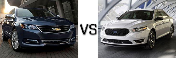 The Best Full Size Sedan: Chevy Impala Or Ford Taurus? - https://carsintrend.com/chevy-impala-vs-ford-taurus/