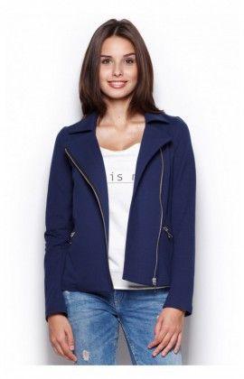 Veste Femme Model 302 Bleu Marine Figl 43901