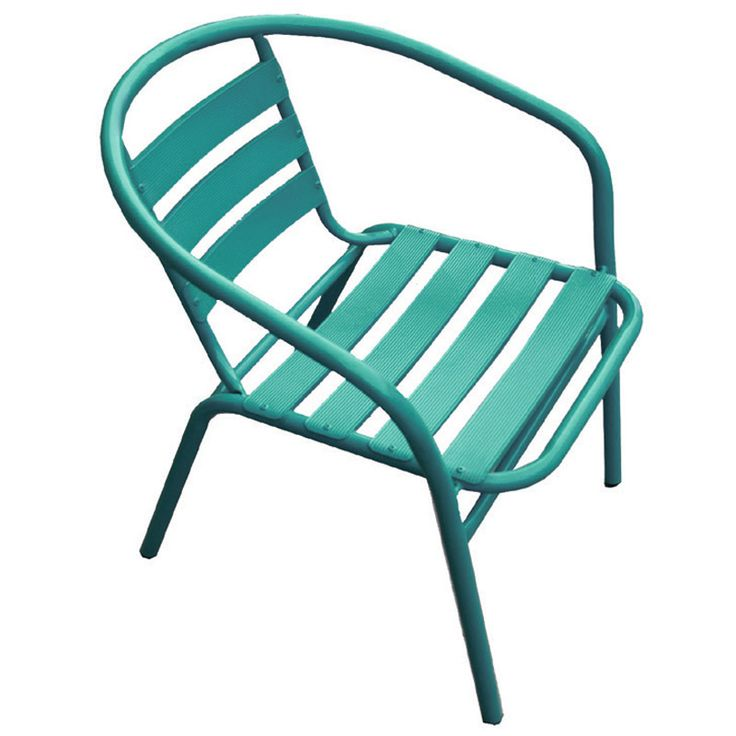 Funky garden armchair steel-aluminum green Ε242,3