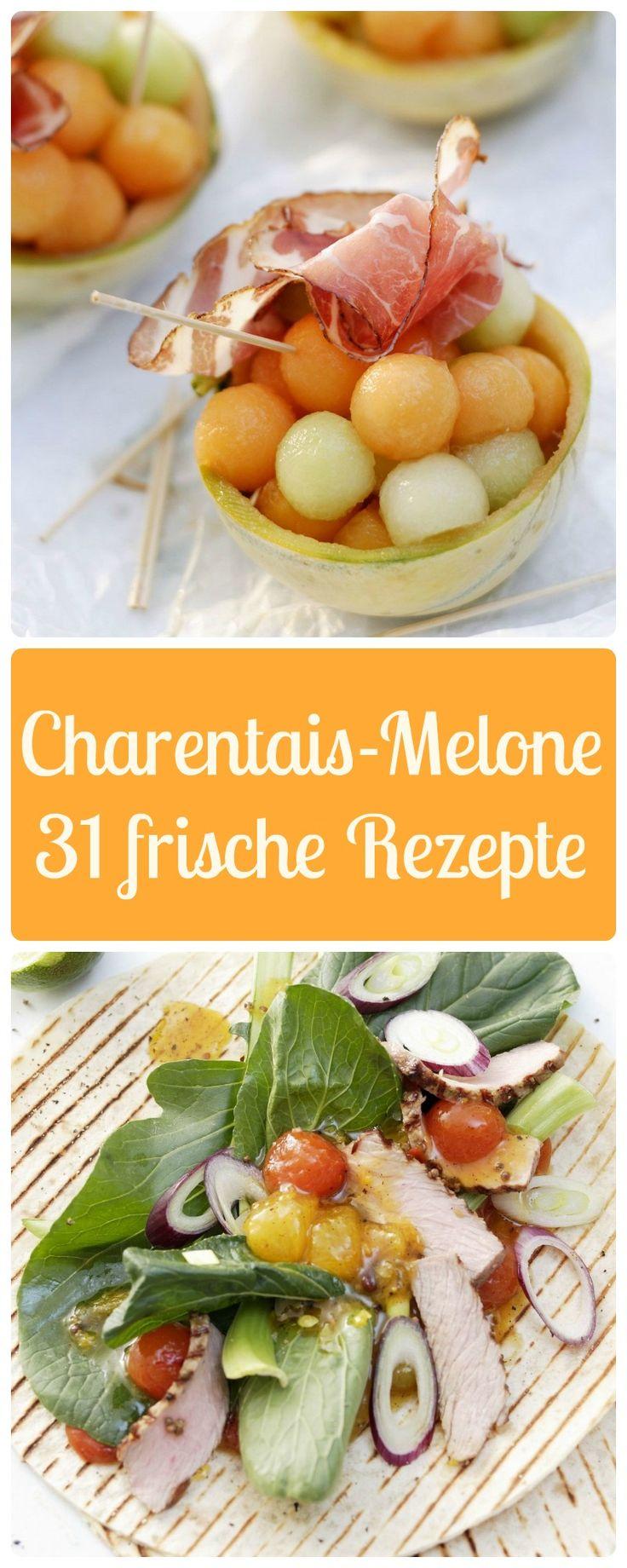 Die besten 25 melone mit schinken ideen auf pinterest for Melone charentais