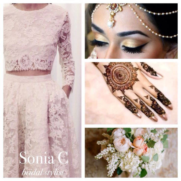 Fusion bridal board by www.soniacollection.com