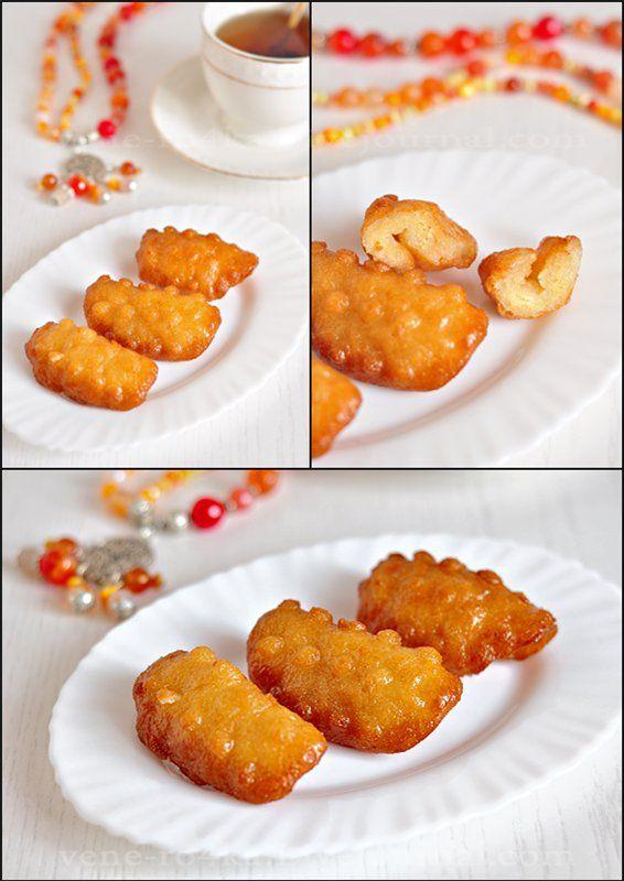 """Вкусная пауза - Ближневосточный десерт """"Пальцы Зайнаб"""" (жареные пончики в сиропе)"""