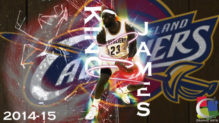 LeBron james Cleveland Cavaliers 2014 wallpaper by CGraphicArts on ...