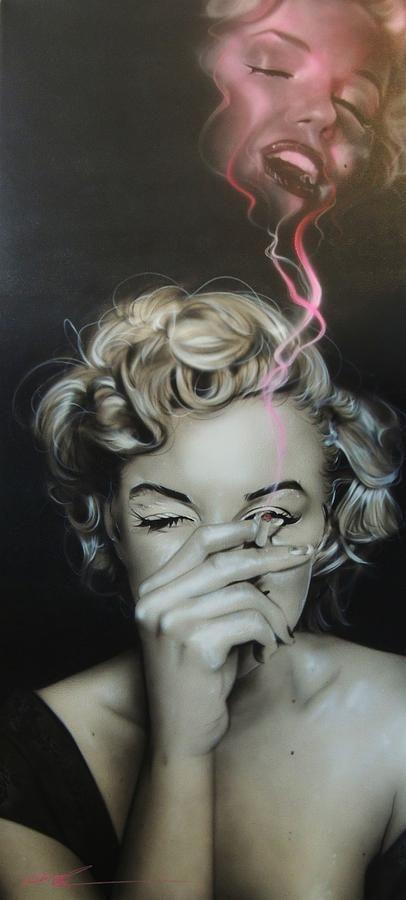 Trippy Art Monroe Marilyn