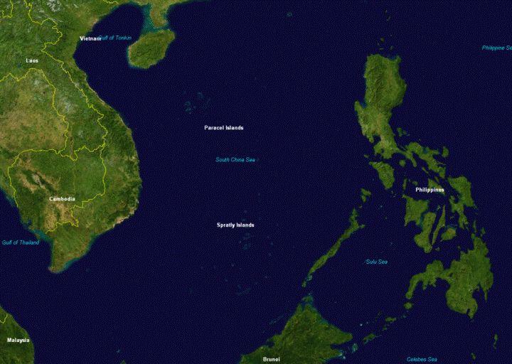 Kepulauan Spartly dan Paracel