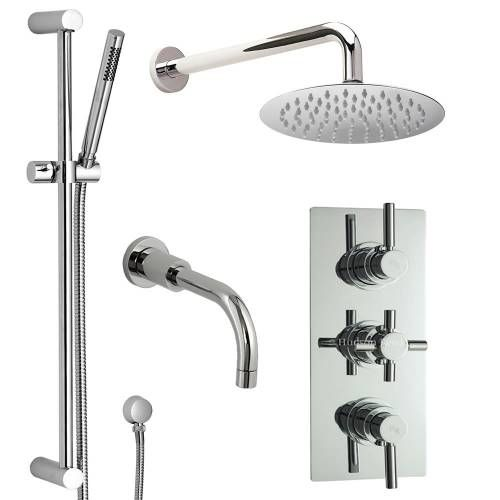 Hudson Reed Kit Bain Douche Thermostatique encastrable