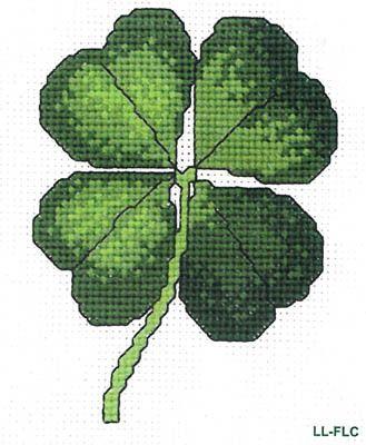 Four Leaf Clover - Cross Stitch Pattern