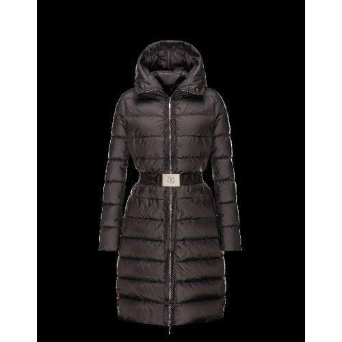 Moncler Doudoune Femme - Moncler FABRE Detachable Turtleneck Noir Blouson Techno Fabric/Polyamide Femme 41457123BH