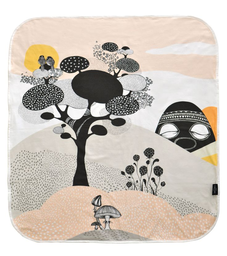 Mini Empire baby blanket Talking Tree