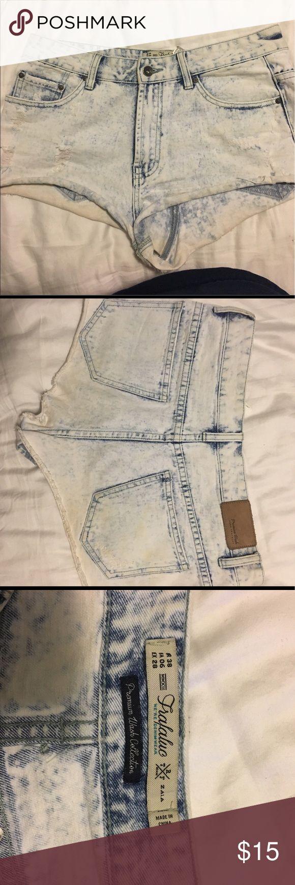 Zara Jean shorts Zara faded Cutoff Jean Shorts Zara Shorts Jean Shorts