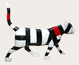 Palíndrome, escultura de Omar Rayo