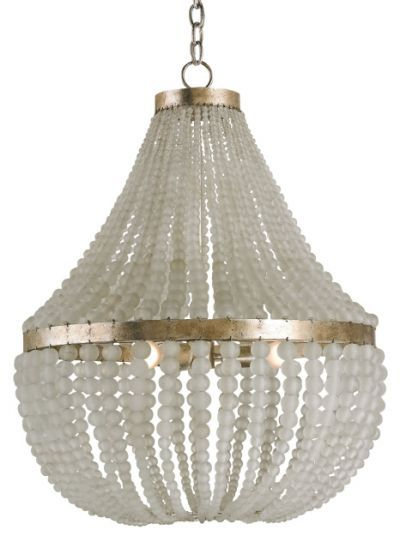 Chanteuse Chandelier By Currey Company Glass Bead