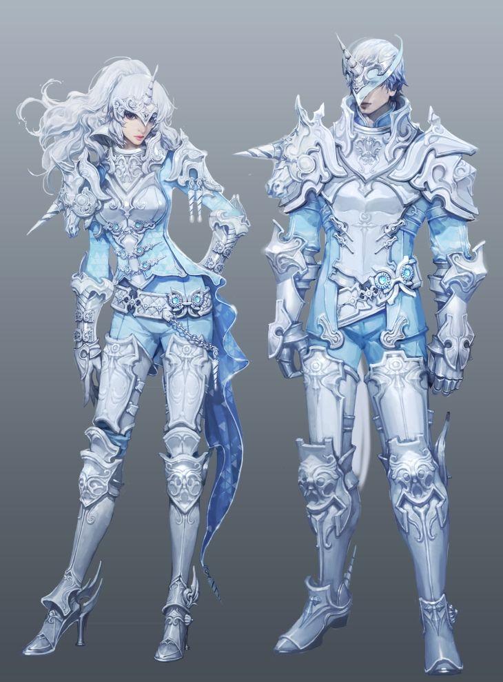 Aion 4.5 absurd unicorn armor  #characterconcepts