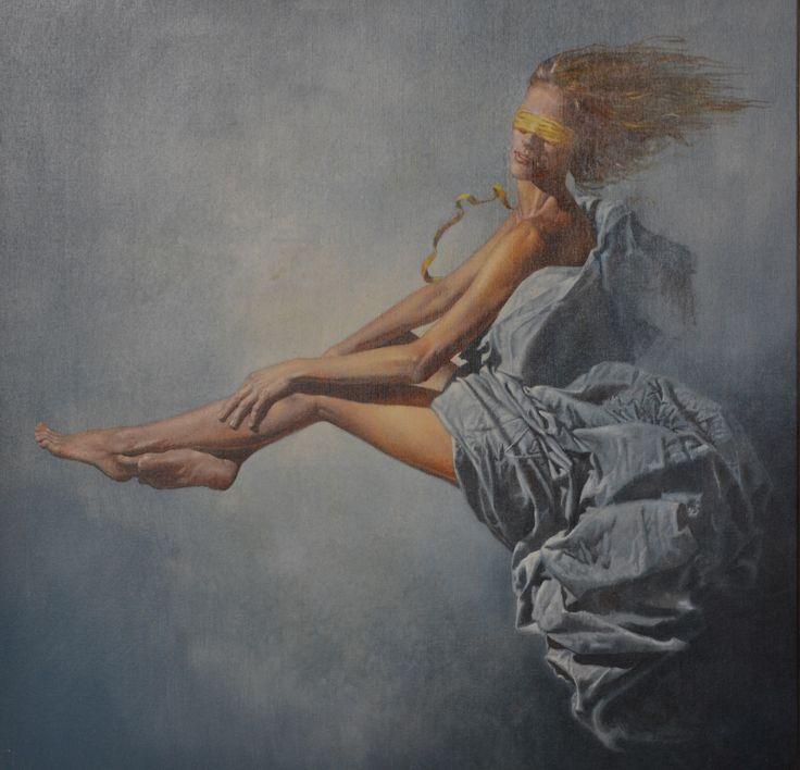 La Fortuna Olio su tela di Angelo Vadalà