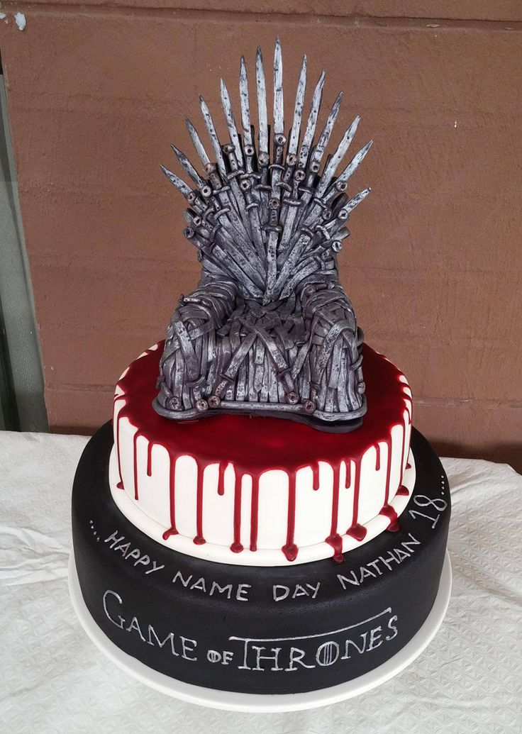 Ultimate Birthday Cake Via �The Game Of Thrones�