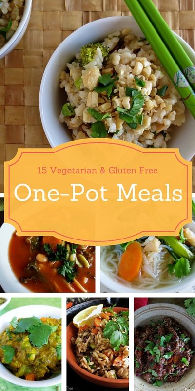 5 Easy, Vegetarian & Gluten Free One Pot Dinners for Hot Summer Nights