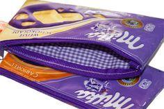 Tutorial: Kramtasche aus Schokoladenpapier » Tolle, Kramtasche, Schokoladenpapier, Anleitung, Vorräte, Vernichtung » Farbenmix