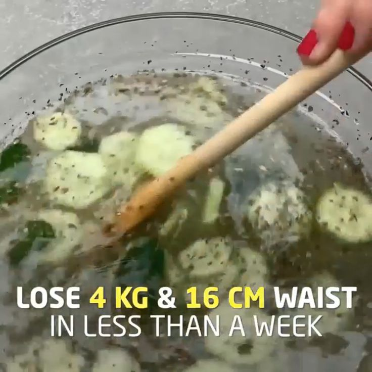 This Mixture Will Help You Lose 4kg and 16cm Waist in Just 4 Days: Don't Consu…