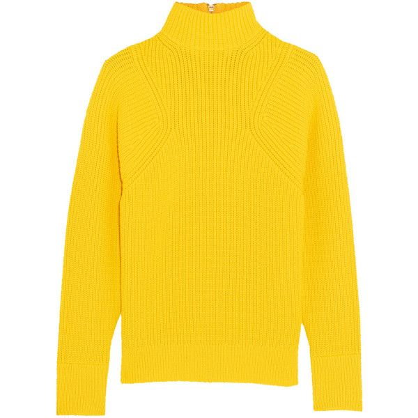 J.Crew Howden knitted turtleneck sweater, Women's, Size: M ($350) ❤ liked on Polyvore featuring tops, sweaters, yellow, checkered sweater, j crew sweaters, polo neck sweater, turtleneck sweater and yellow top