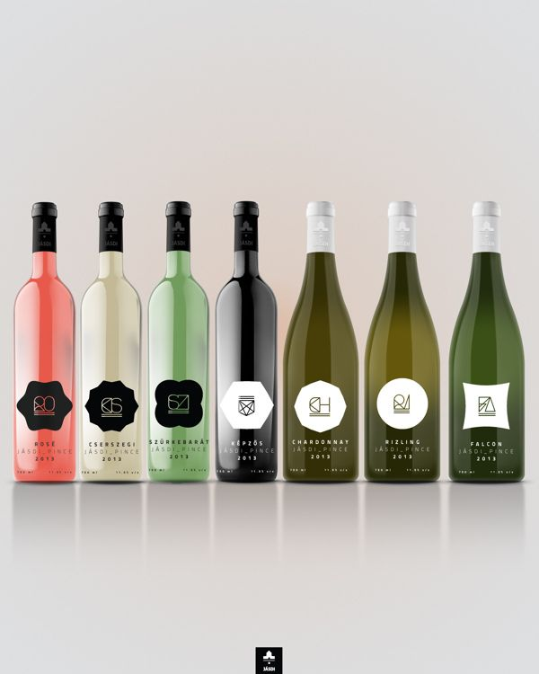 Packaging of the World: Creative Package Design Archive and Gallery: Jásdi Wine Label Concept