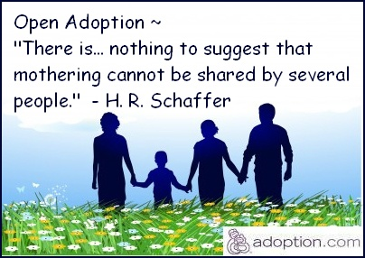 should all adoptions be open Open mason article open adoption benefits birthparents because the grieving process that follows all adoption need not an open adoption should be a fully.