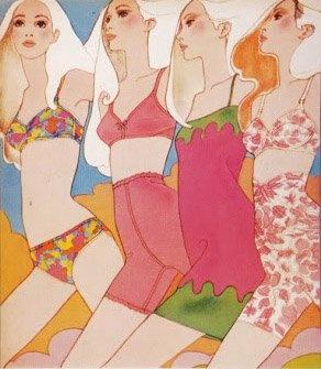 Antonio Lopez Illustration for McCall's 1967