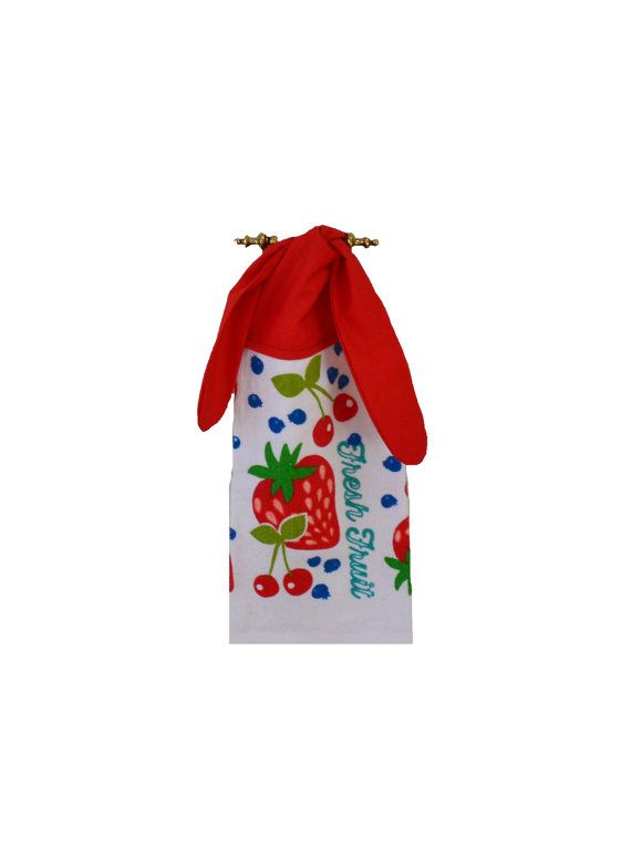 Fruchtschale Erdbeer Handtuch Küche Handtuch von SuesAkornShop