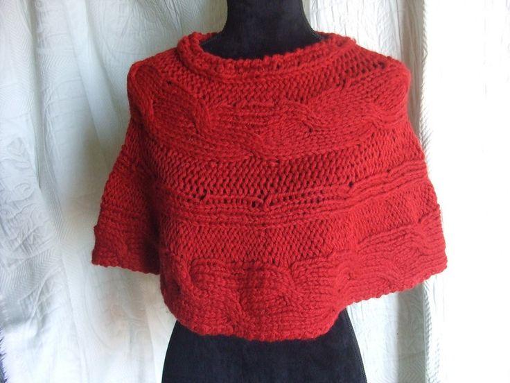 Coprispalle & Bolerini - copri spalle ponchio lana maglia donna - un prodotto unico di dorazimorena su DaWanda