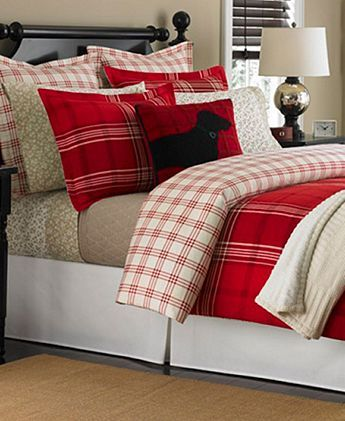 Martha Stewart Collection Sleigh Ride Plaid Flannel Twin