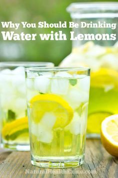 Why You Should Be Drinking Water With Lemon